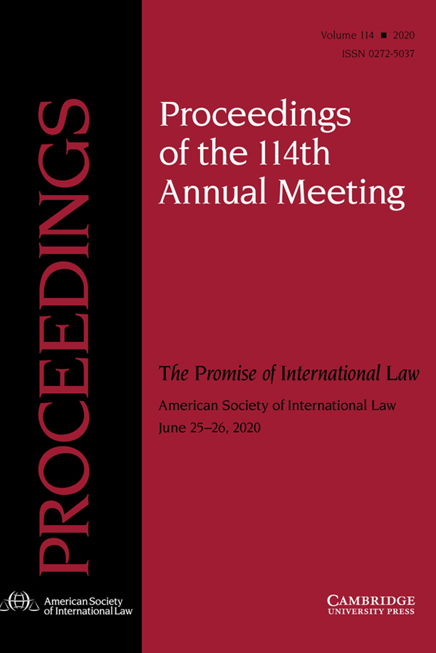 ASIL Annual Meeting Proceedings