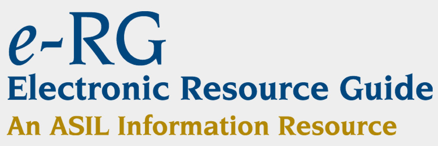 electronic resource guide erg asil