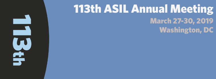 2019 Annual Meeting Videos | ASIL